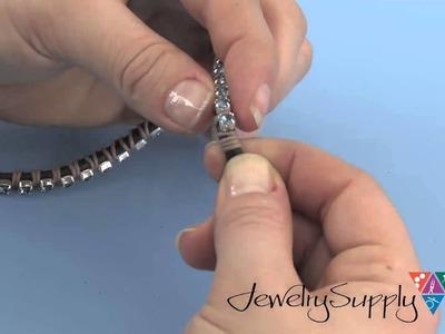 How to create our Swarovski Crystal Wrap Bracelet Project Kit
