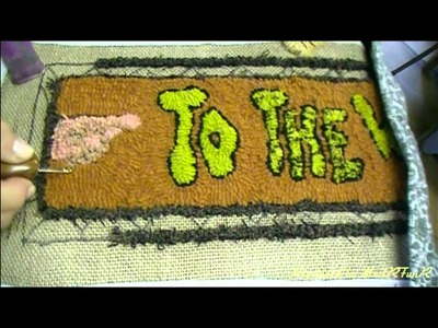 How To Hook a Primitive Rug
