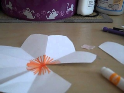How To Make A 3D Flower Pop-Up  Card