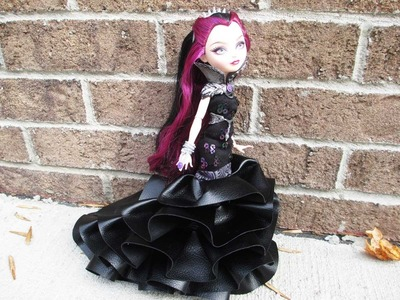 How to make a Ever After High or Monster High Dress
