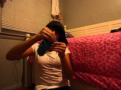 How To Make A Hair Bow Out Of A Plastic Bag