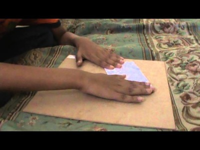 How to make a paper Wallet ( Without scissors or tape!! ) Easy