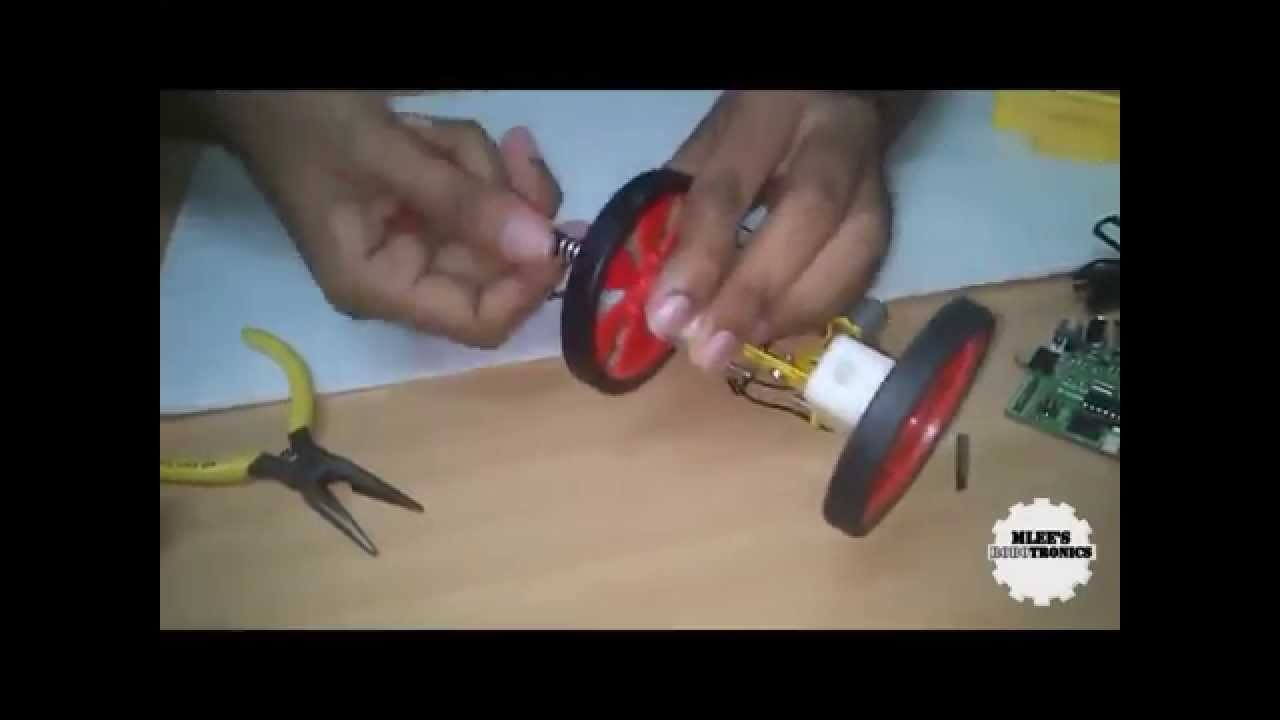 How to make a Robot : building a very simple robot platform