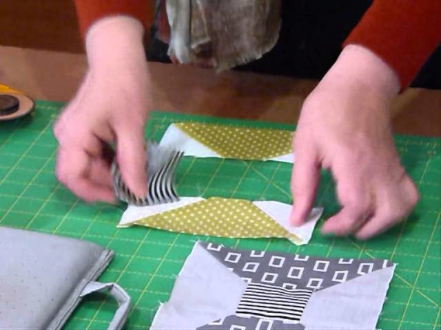 How to make a Spool block - Quilting Tips & Techniques 153