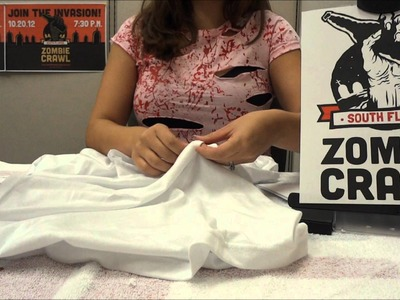 How To Make A Zombie Shirt Costume