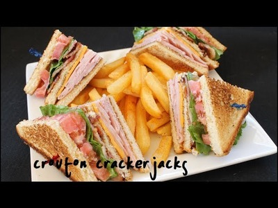 How to Make Club Sandwiches - Club Sandwich Recipe