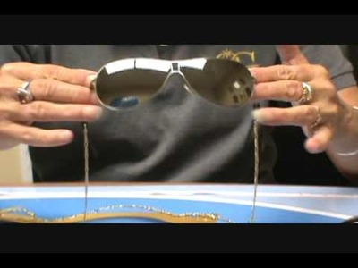 How to make  Eye Glass safety chain sunglass permagold