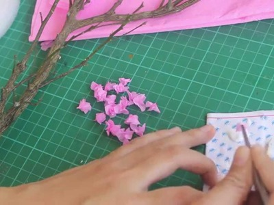 How to Make Miniature Cherry Blossom Tree