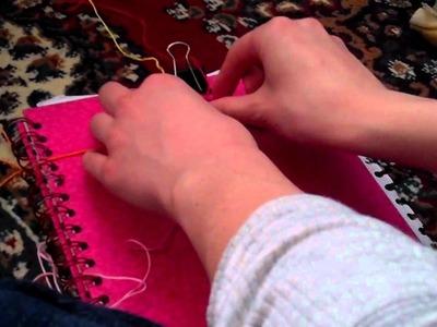 How To Make Rag Rug Friendship Bracelet