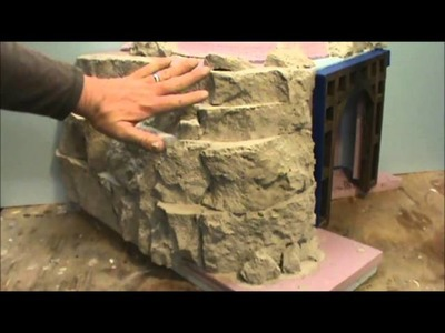 How to Make Rock Formation from Urethane Foam
