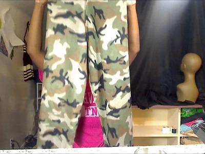 How to makea simple pair of  pajama pants