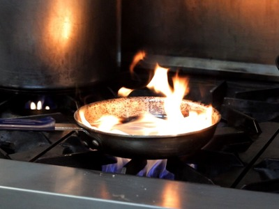 How to Prevent & Douse a Kitchen Fire   Deep-Frying