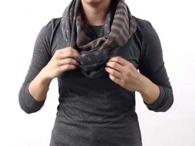 HOW TO TIE A SCARF - THE INFINITY WRAP