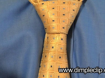 How To Tie and Dimple your Necktie (Full Windsor)