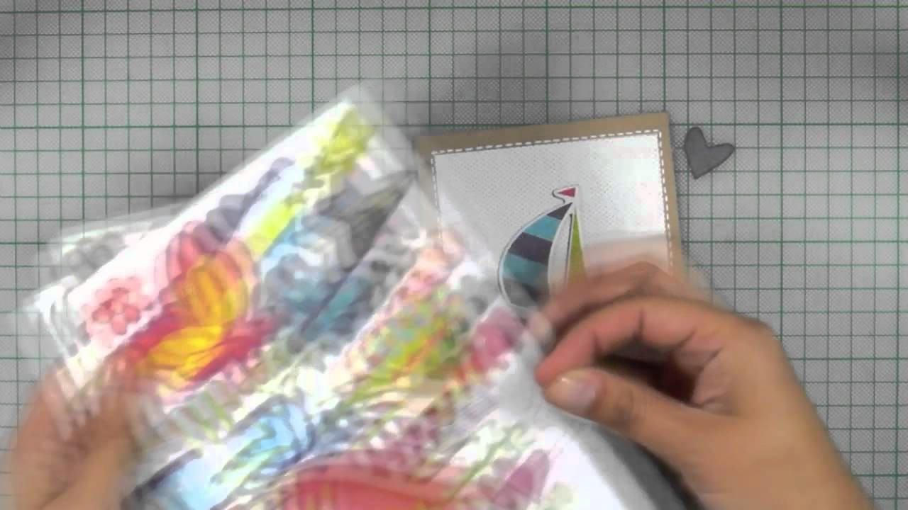How-to video: Set of 3 Summer cards!