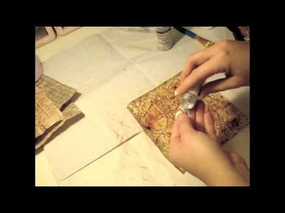 How to wrinkle Paper - Vintage Old Effect Tutorial