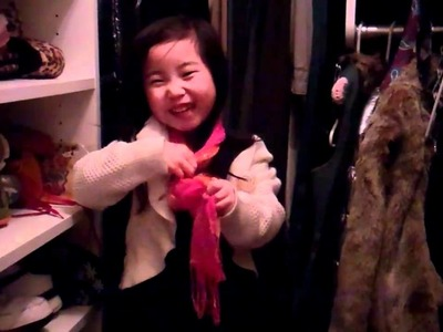 Lucy's Scarf video
