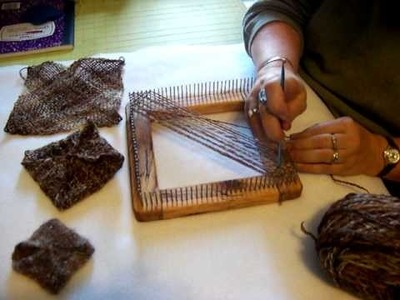 Mac's Traditional Shop Square Loom-Part1