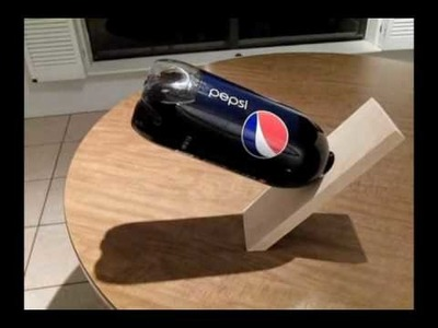 Make A Crazy Gravity Soda Holda!