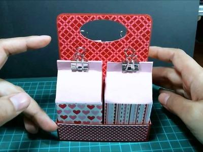 Mini Milk Carton Box & Holder (Plus Tutorial)