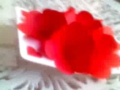 My flower popup Valentine Day gift for Allison