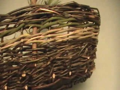 Nancy Today: Esther's oval basket (wisteria 14) ASMR basketmaking (basket making tutorial)