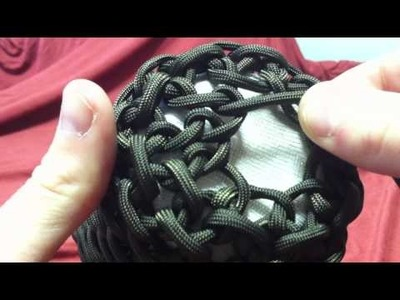 Paracordist How to make the paracord iPhone case Part II