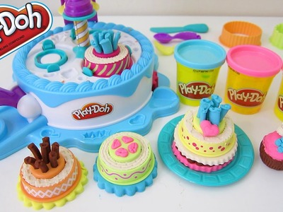 Play-Doh Cake Makin' Station Playset Sweets Cafe Dessert Bakery by Hasbro Toys!