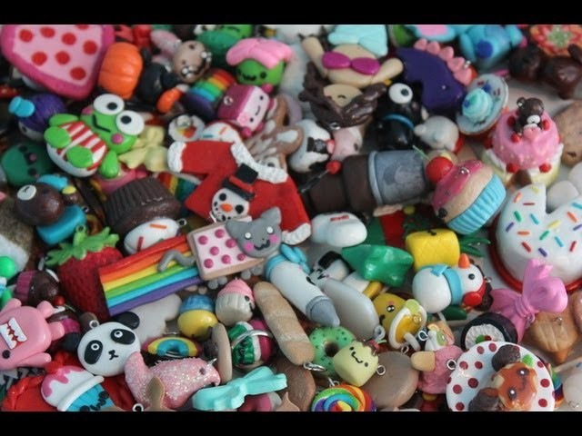 Polymer Clay Charm Collection 2013!  • ◡ •