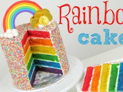 Rainbow Cake Tutorial - CAKE STYLE