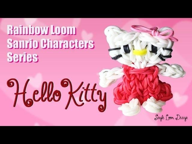 Rainbow Loom Sanrio Characters Series: Hello Kitty (Single Loom)