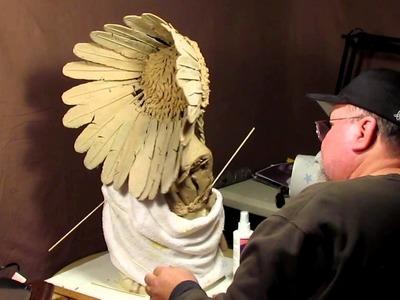 Sculpture Tutorial - Using a Fabric Stiffener