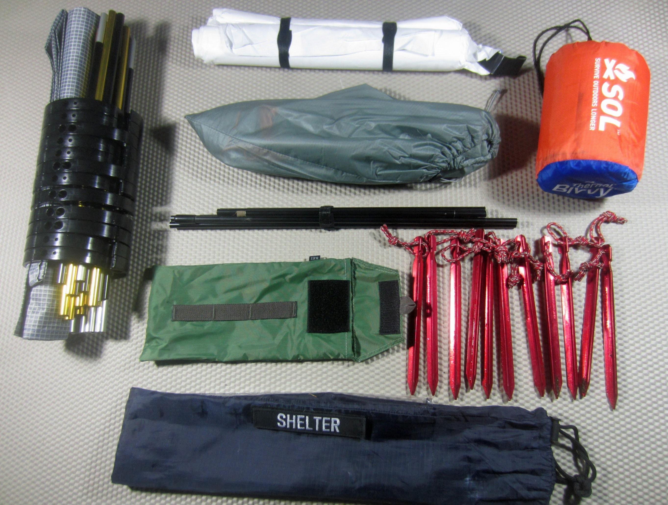 Shelter Module - Part 1 (Building A Bug Out Bag) by TheUrbanPrepper