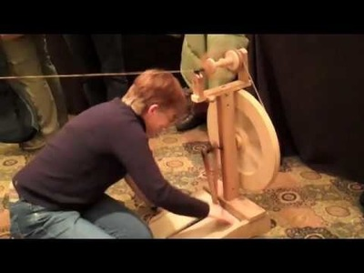 SOAR Workshop Review - Spinning Cotton on a Wheel