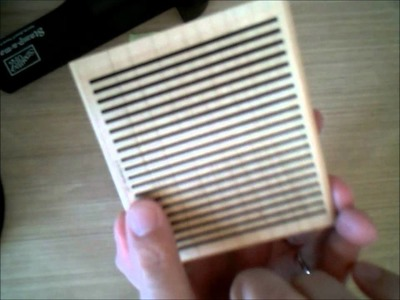 Stampin' Up! Tutorial - Homemade Washi Tape