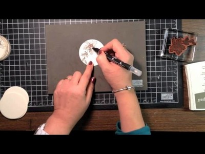 Stampin' Up! Video Tutorial- Easy Christmas Gift Tags