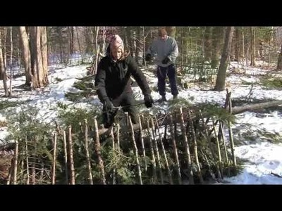 Survival Shelter- Winter Shelter Series 2-Snow Debris Hut