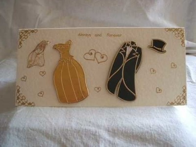 Thank you cards, wedding cards, handmade cards