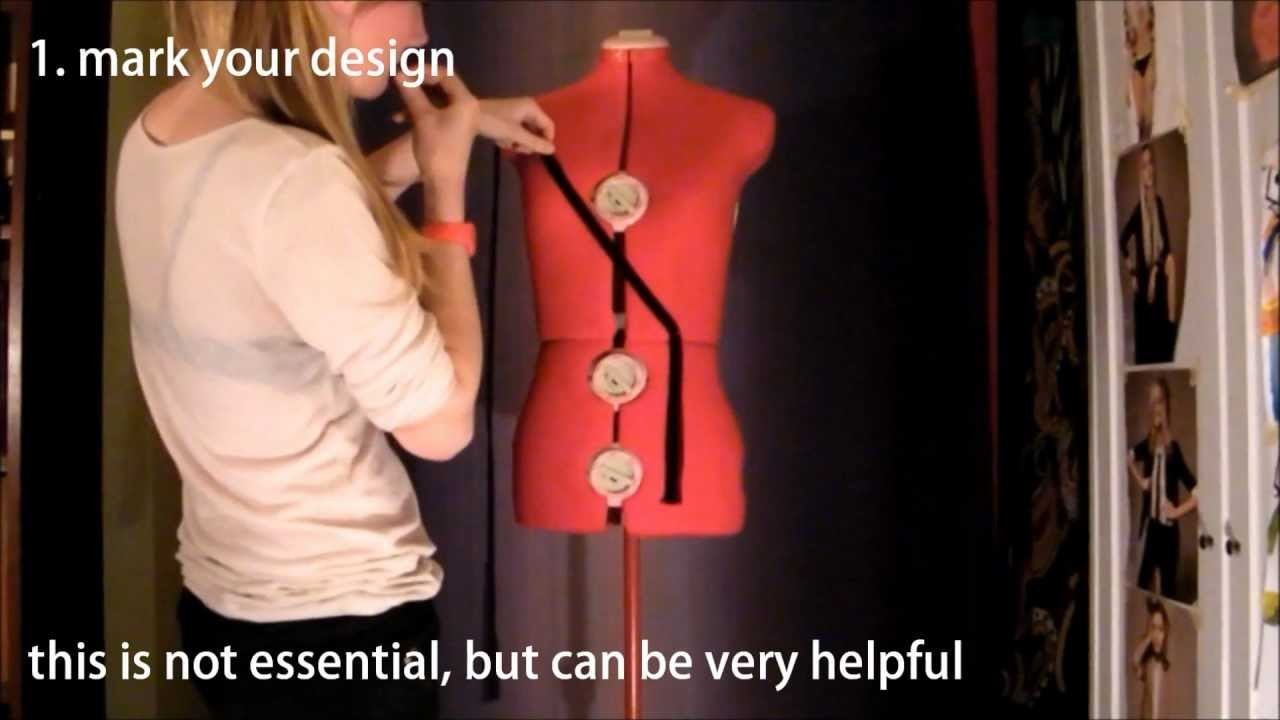 Tutorial: make your own sexy evening gown!