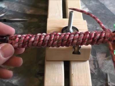 West County Whipping Paracord Bracelet Tutorial