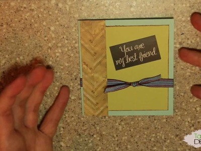 You are my Bestfriend- Card Making Wednesday