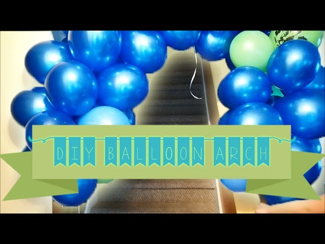 16 Days till Sweet Sixteen | How to Make QUICK n EASY Balloon Arch!