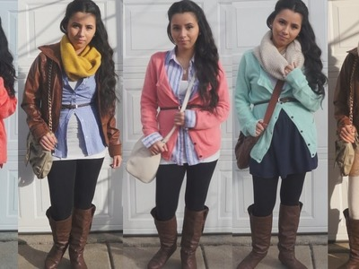 5 Cute Fall.Winter Outfits