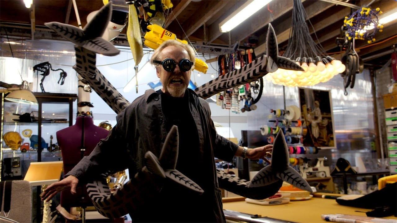 Adam Savage Builds Patton Oswalt's Halloween Costume