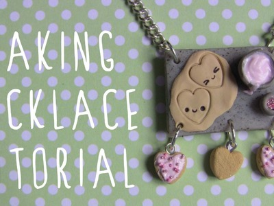 Baking Necklace Polymer Clay Tutorial