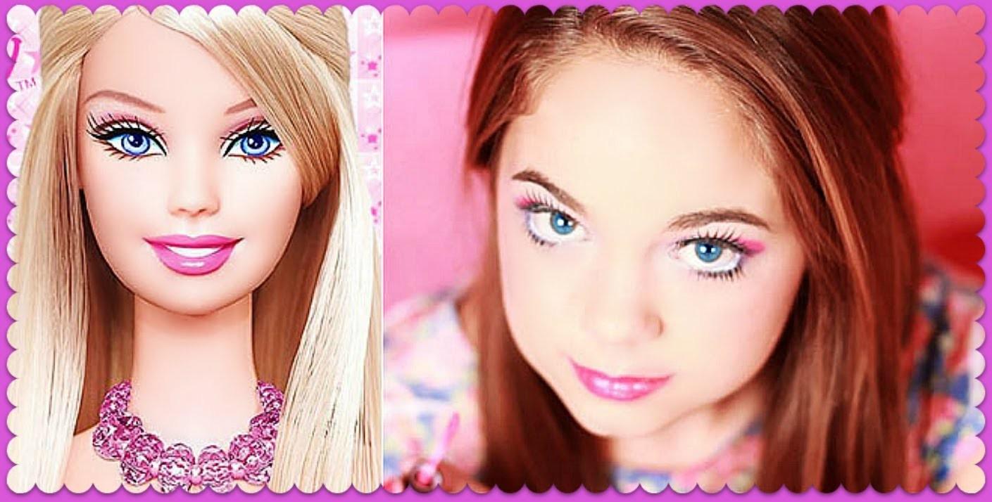 Barbie Makeup Tutorial ♥