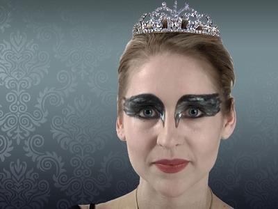 Black Swan Makeup Tutorial for Halloween