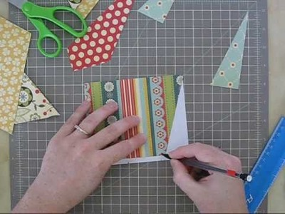 """Create A Card with GingerCupcake- Sunburst """"For You"""" Card"""