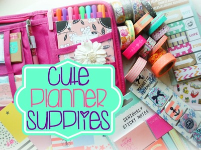 Cute Planner Supplies Haul | Ep. 1