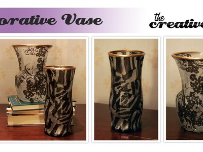 Decorative Vase Tutorial - Easy Handmade Gift Idea